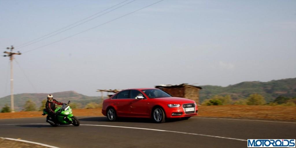 Ninja-300-Vs-Audi-S5-4