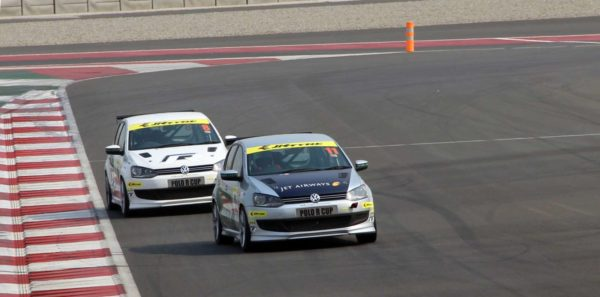 Polo R Cup 2013 drivers clocking their best times at the Buddh International Circuit