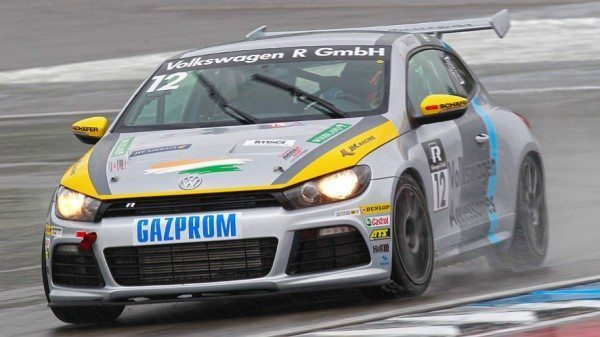 Sandeep Kumar driving in Scirocco R-Cup 2013_1