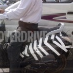 Spied again: TVS Wego based male specific scooter