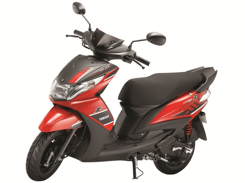 Yamaha Ray Z male oriented scooter launched at INR 48,555