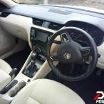 New 2013 Skoda Octavia India launch soon. Interiors spied