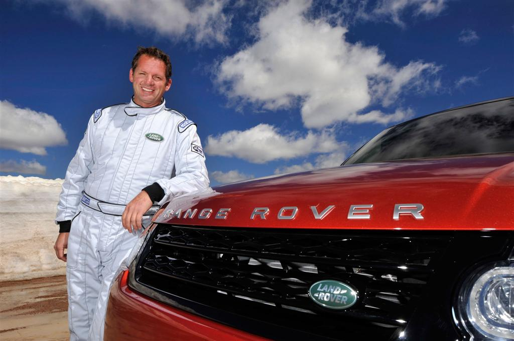 2014 Range Rover Pikes Peak Record