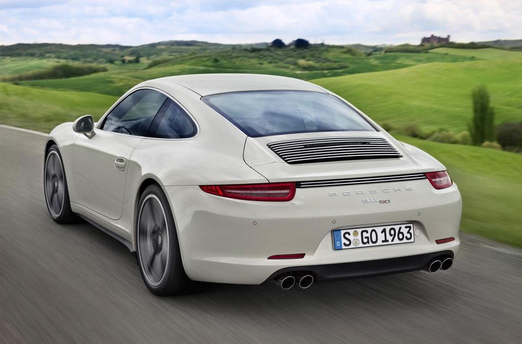 50th Annivesary Porsche 911 rear