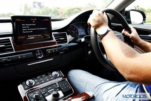 Audi A8L 4.2 TDI review India (2)