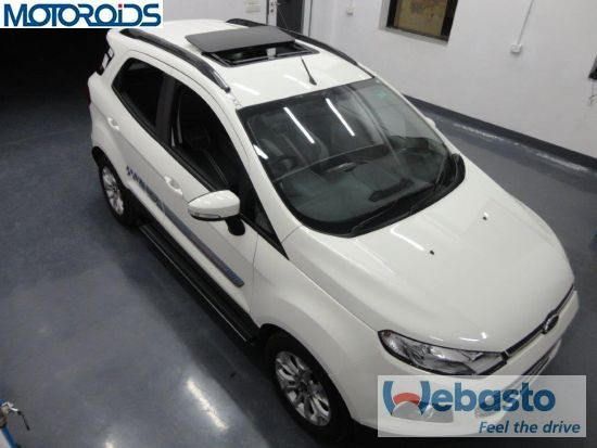 Webasto sunroof for the Ford EcoSport