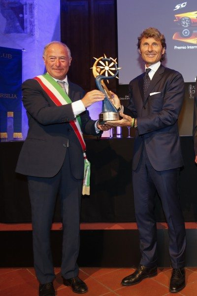 Domenico Lombardi, Sindaco di Pietrasanta & Stephan Winkelmann, Presidente e AD Lamborghini