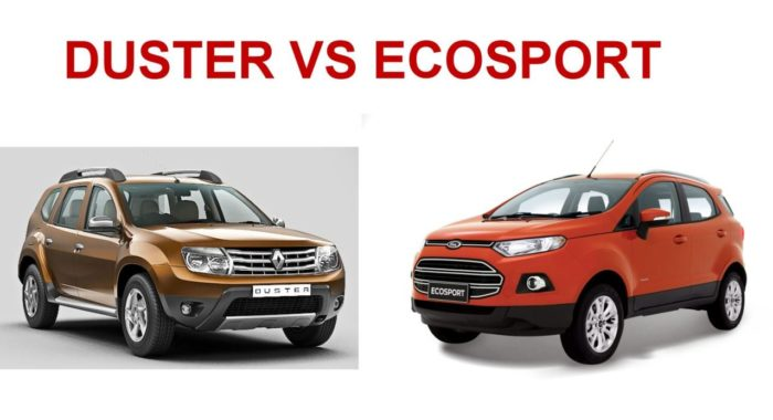 Ford Ecosport VS Renault Duster Quick Comparo Of Features Performance Handling And Price