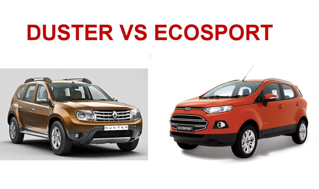 renault quick by ford ecosport vs renault duster quick comparo of features