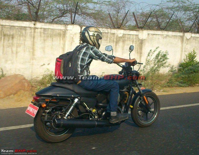 Harley Davidson 500 India