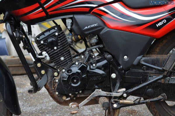 Hero Passion X Pro 110cc Review Pics Price (124)