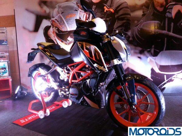 KTM 390 Duke India launch pics price 13