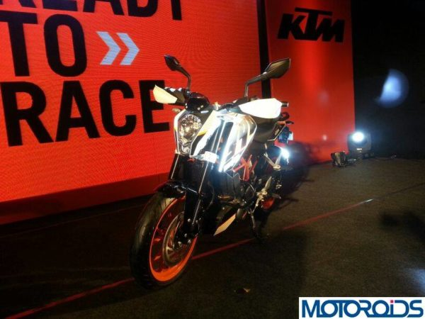 KTM 390 Duke India launch pics price 17