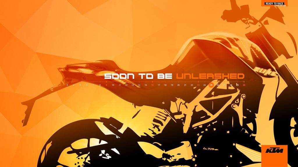 KTM Duke 390 teaser