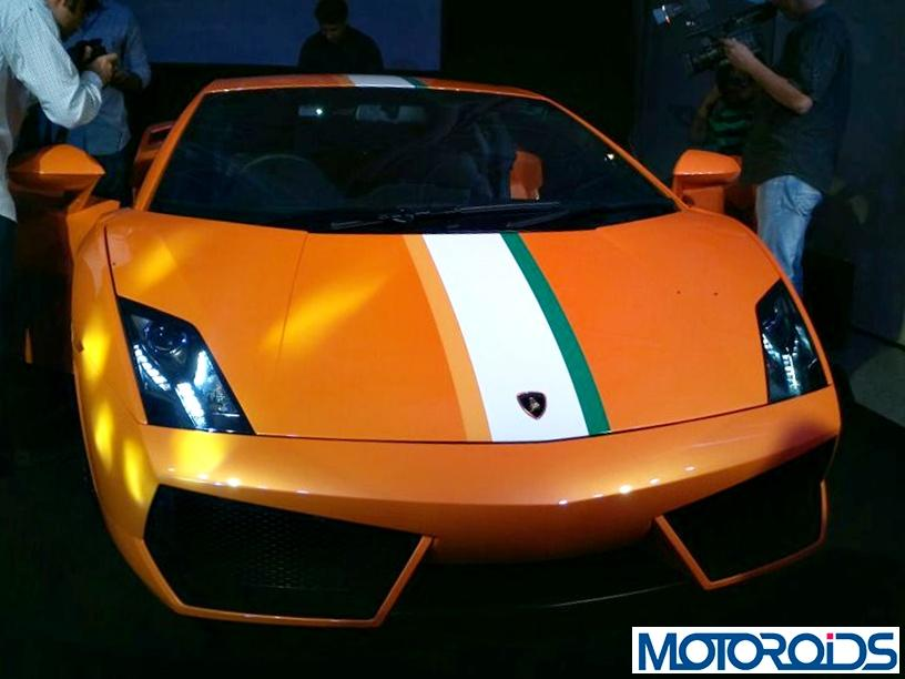 Lamborghini Gallardo LP 550-2 India Limited Edition