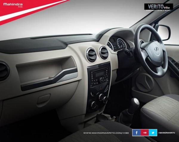 Interiors same as those on the Verito sedan