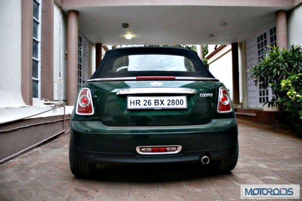 Mini Cooper Convertible India review (1)