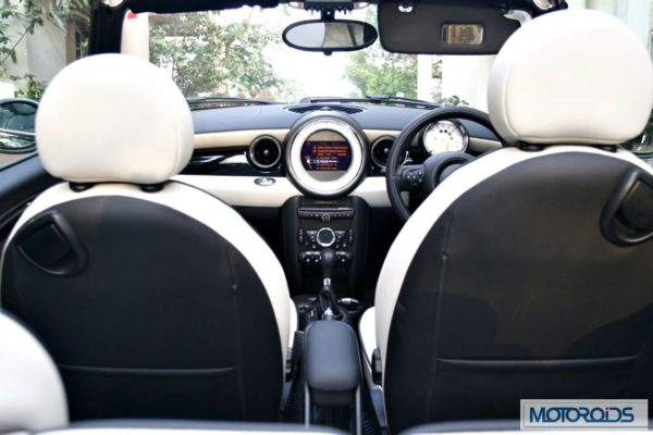 Mini Cooper Convertible India review (37)