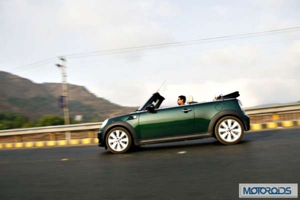 Mini Cooper Convertible India review (54)