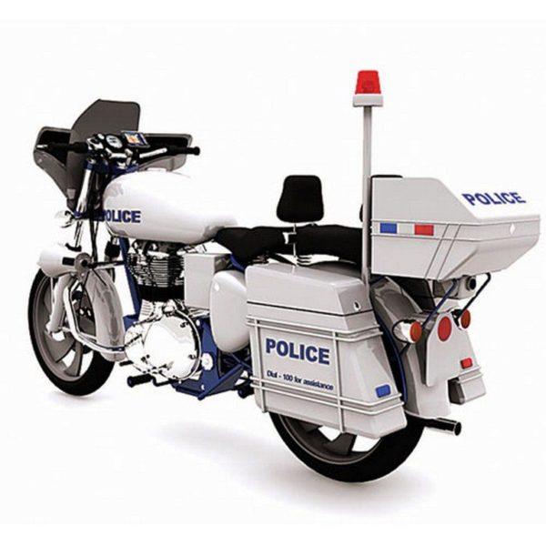 Mumbai Police bikes