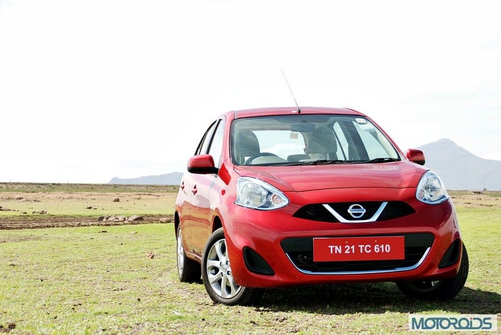 New Nissan Micra 2013 facelift India review (126)