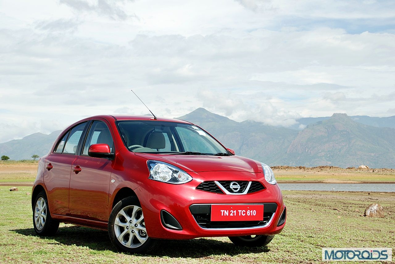 New Nissan Micra 2013 facelift India review (128)