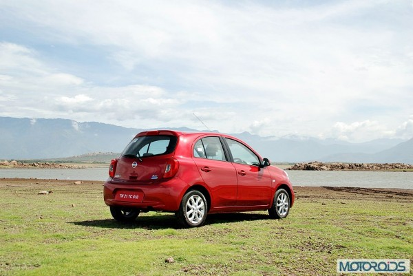 New Nissan Micra 2013 facelift India review (131)