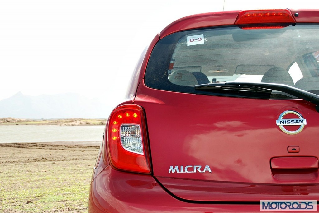 New Nissan Micra 2013 facelift India review (133)