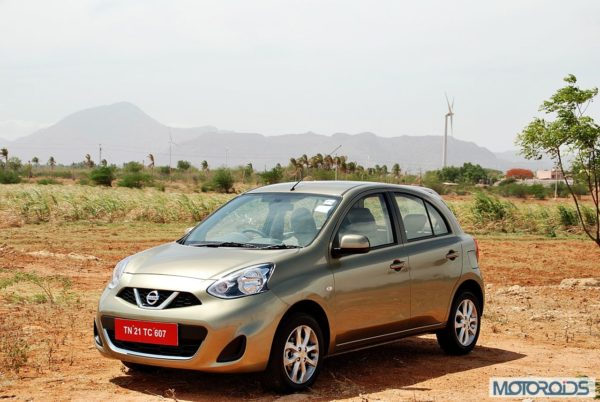 New Nissan Micra 2013 facelift India review (136)