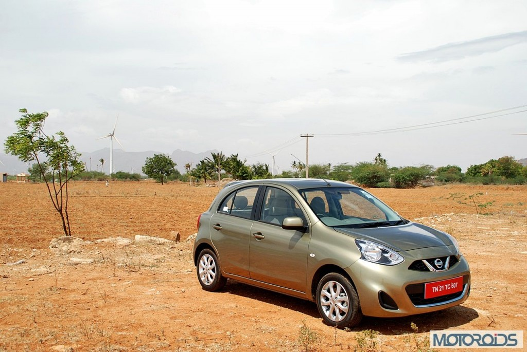 New Nissan Micra 2013 facelift India review (137)