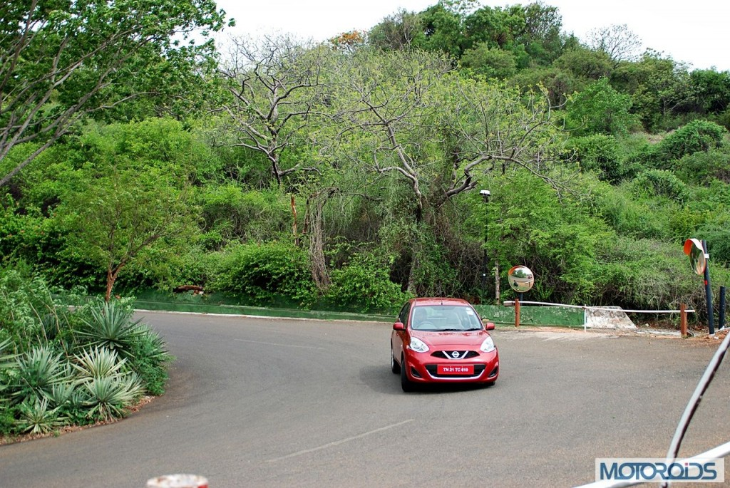 New Nissan Micra 2013 facelift India review (144)