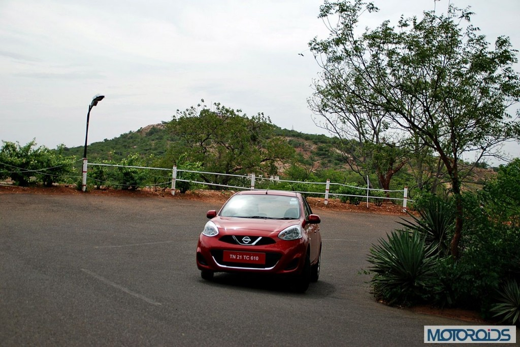 New Nissan Micra 2013 facelift India review (145)