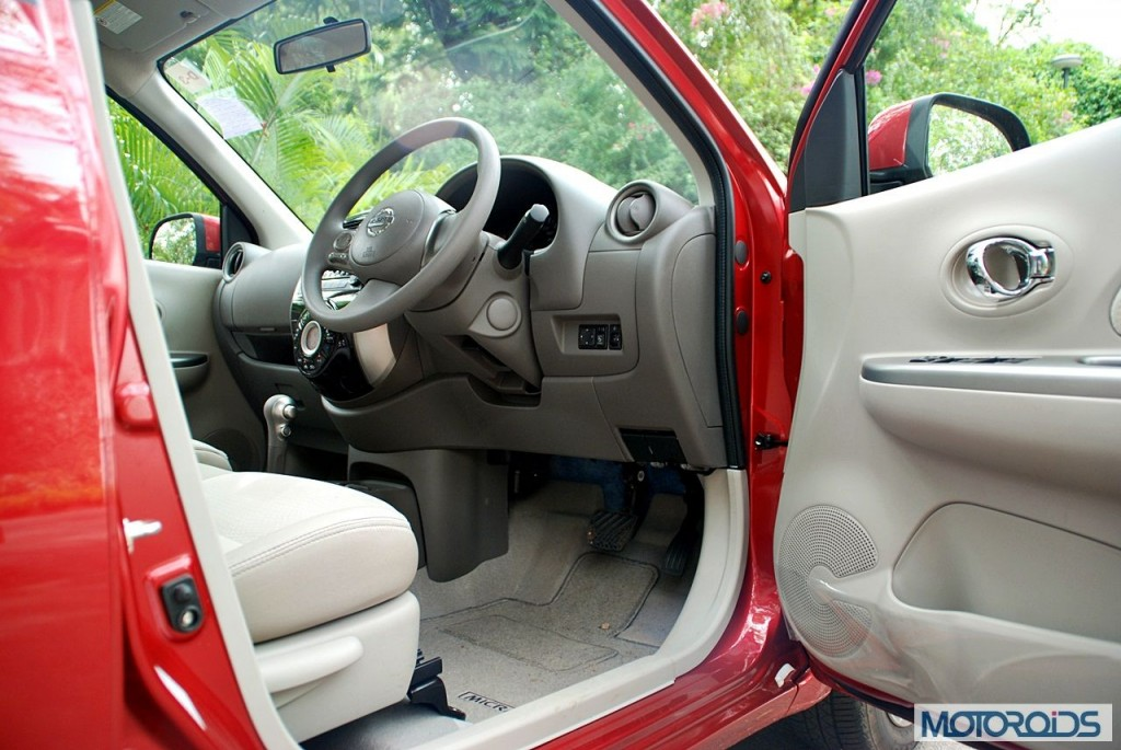 New Nissan Micra 2013 facelift India review (151)