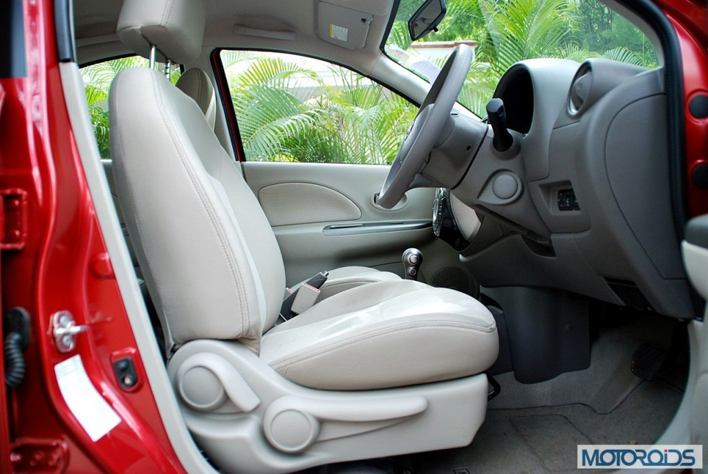New Nissan Micra 2013 facelift India review (155)