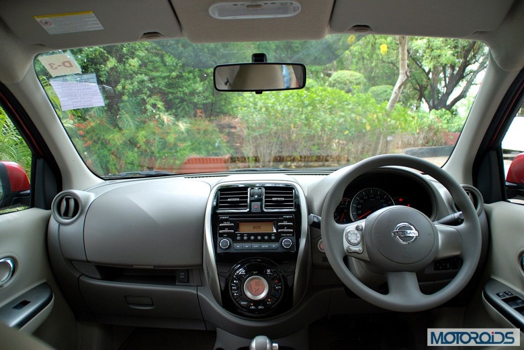 New Nissan Micra 2013 facelift India review (164)