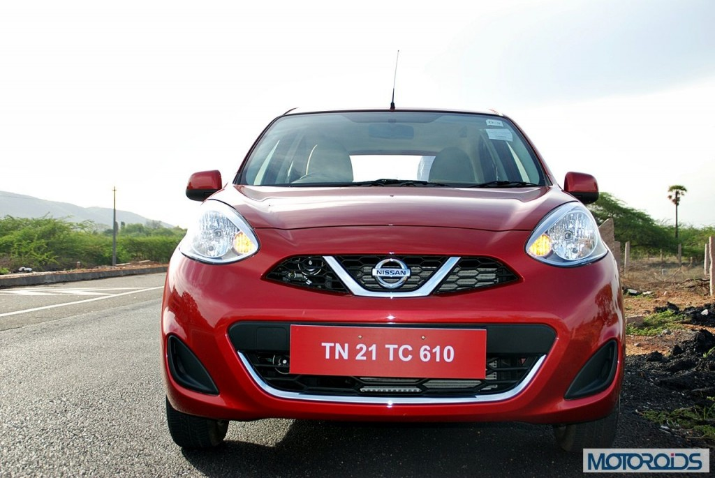 New Nissan Micra 2013 facelift India review (95)