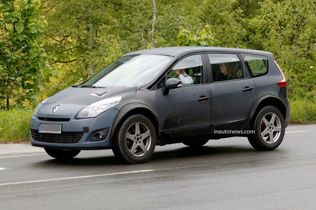 New Renault Koleos Spyshot