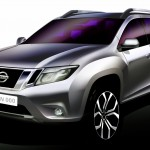 OFFICIAL- Nissan Terrano will be the new Duster based SUV. Sketch Revealed
