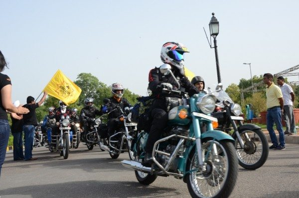 Royal Enfield_Himalayan Odyssey_India Gate (1)