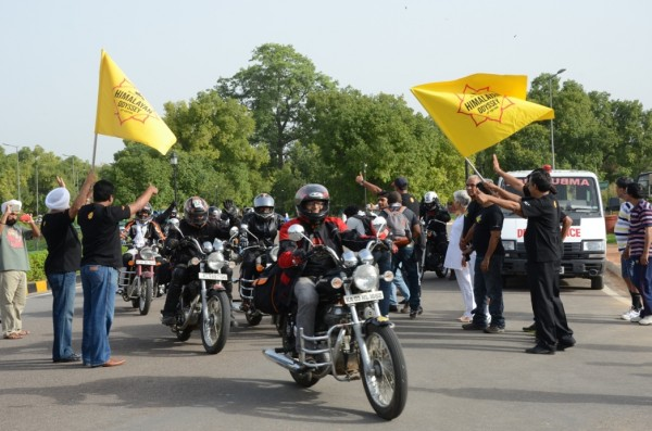 Royal Enfield_Himalayan Odyssey_India Gate (3)