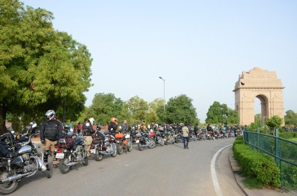Royal Enfield_Himalayan Odyssey_India Gate (6)