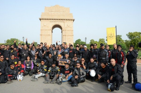 Royal Enfield_Himalayan Odyssey_India Gate (8)