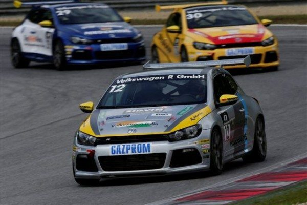 Sandeep Kumar during Round 2 in of Scirocco R-Cup 2013_1