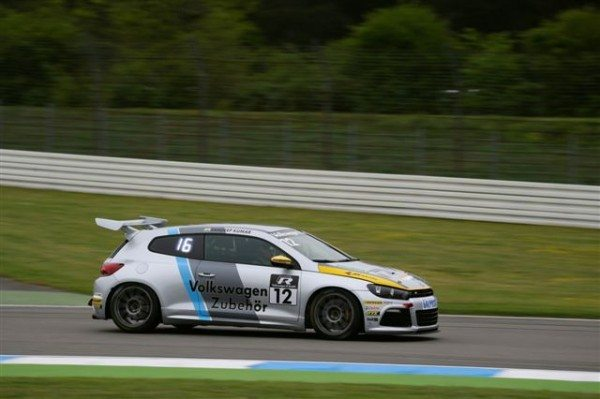 Sandeep Kumar during Round 2 in of Scirocco R-Cup 2013_2