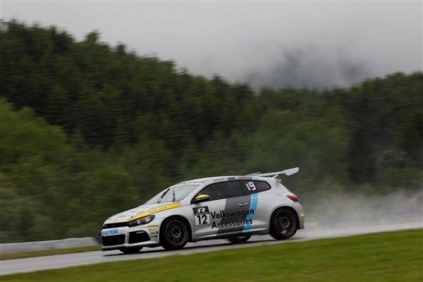 Sandeep Kumar during Round 2 in of Scirocco R-Cup 2013_3