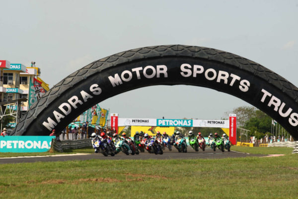 1-SuperSports 600cc Race at the MMRT in 2011