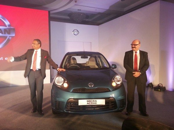 2013 Nissan Micra facelift launch pics 1 (1)