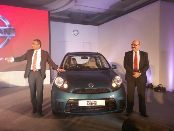 2013 Nissan Micra facelift launch pics 1 (1)