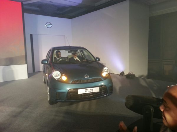 2013 Nissan Micra facelift launch pics 1 (3)