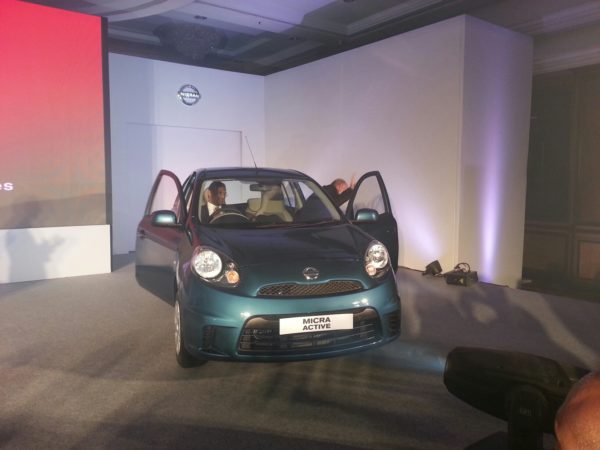 2013 Nissan Micra facelift launch pics 1 (4)